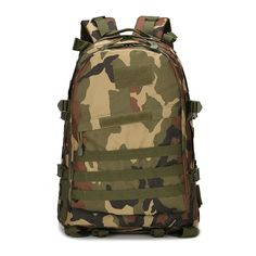 56.04$  Buy here - http://aifew.worlditems.win/all/product.php?id=32799518141 - wholesale fishing bag update version 3D package Camouflage  military fans tactical backpack outdoor leisure mountaineering bags