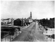 São Paulo - Começo do Século - Estação da Luz 1902