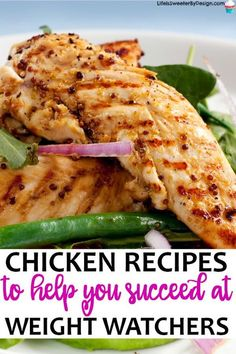 Weight Watchers chicken recipes will really help you stay on track. This huge li Weight Watchers chicken recipes will really help you stay on track. This huge li. Poulet Weight Watchers, Weight Watchers Diet, Weight Watcher Dinners, Weight Watchers Chicken, Weight Watchers Recipes With Smartpoints, Weight Watcher Girl, Weightwatchers Smartpoints, Weight Watchers Lunches, Easy Pasta Recipes