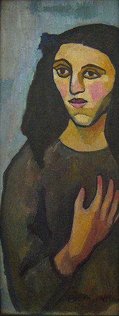 Sonia Delaunay, Jeune italienne, 1907 by Sharon Mollerus, via Flickr