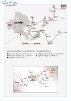 cool Aland Islands Ahvenanmaa Map