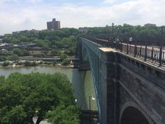 The High Bridge spanning the Harlem River reopened to the public after more than 40 years on Tuesday, June 9, 2015. (Credit: Cristian Salazar)
