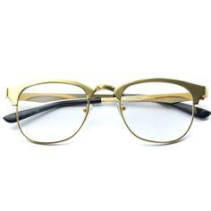 224f4d307b7 Tanner Metal Frame Super Lightweight Clear Glasses. WearMe Pro. Eye Glass  Vintage Round Frame Clear Lens ...