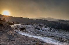 Roadtrip UPDATE: Yellowstone National Park und Las Vegas (mit Video) - Mammot Hot Springs