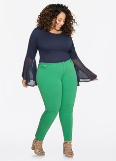 90ba7d7468c Colored Jegging. Colored JeggingsChubby FashionPlus Size ...
