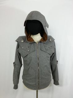 MoonGray The Dark Knight Hoodie by MagicShadow on Etsy