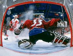 Patrick Roy, 551 wins Teams: Montreal Canadiens Colorado Avalanche leads NHL goalies with 151 Stanley Cup Playoff victories. Hockey Goalie, Hockey Teams, Ice Hockey, Hockey Stuff, Hockey Rules, Montreal Canadiens, Patrick Roy, Hockey World, Nhl Games