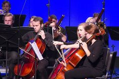 @LindenwoodU's Symphonic Orchestra performed the second night of the #FallMusicSeries