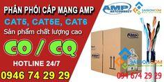 Phân phối dây cáp mạng AMP chính hãng giá rẻ