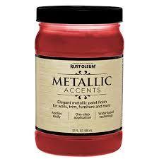 Rust-Oleum® Metallic Accents Product Page Metallic Paint Colors, Rustoleum Metallic, Food, Essen, Meals, Yemek, Eten