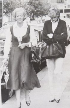 May 27, 1981-- Diana Spencer with her mother Frances Date source: daily express edition of 28 May 1981. Diana and her mother drove to designer Bill Pashley's home studio in Battersea