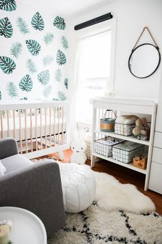 Leafy Green Nursery Tour – BluebirdKisses Tap the link now to find the hottest products for your bab