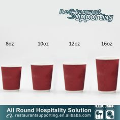 Foshan Ron Hospitality Supplies Co. Coffee Cup Storage, Hospitality Supplies, Disposable Coffee Cups, Travel Cup, Shot Glass, Planter Pots, Recycling, Restaurant, Paper