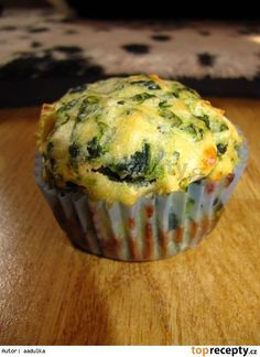 Špenátové muffiny s fetou Keto Recipes, Cooking Recipes, Sweet Bar, Good Food, Yummy Food, Party Finger Foods, Low Carb Keto, Bon Appetit, Food And Drink