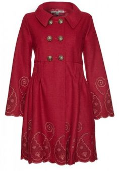 Embroidered Coat in my romantic (Spicy) - surprisingly easy to find these in my colours!