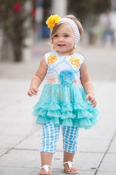 Giggle Moon Sevilla Tutu Dress with Capri