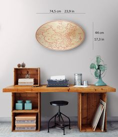 Wooden maps: China