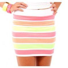Neon Neon Neon...Skirt and Bangles