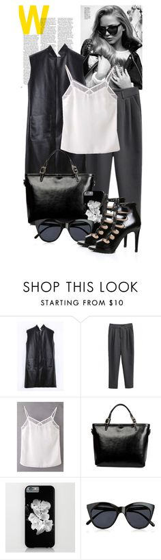"""""""Street Chic _ beautiful halo"""" by by-jwp on Polyvore featuring LineShow, Le Specs and beautifulhalo"""