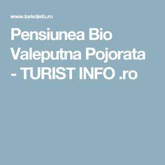 Pensiunea Bio Valeputna Pojorata - TURIST INFO .ro