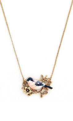 Modcloth Gold Nest To Impress Necklace