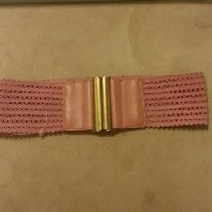 I just discovered this while shopping on Poshmark: Pink Belt. Check it out!  Size: S/M