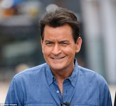 Opening up:Charlie Sheen (above in May) will appear on Today Tuesday morning and speak with Matt Lauer