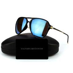 e61b28b25e2 2016 Victoria Beckham polarized sunglasses women men brand designer UV400 VB  Vintage pilots sun glasses Male