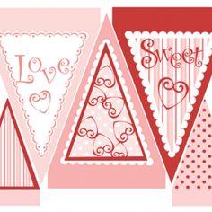 Printable Valentine's Day Banner