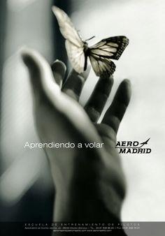 Campaña de #Publicidad en #Prensa para reforzar la #ImagenCorporativa. Cliente: Aeromadrid.