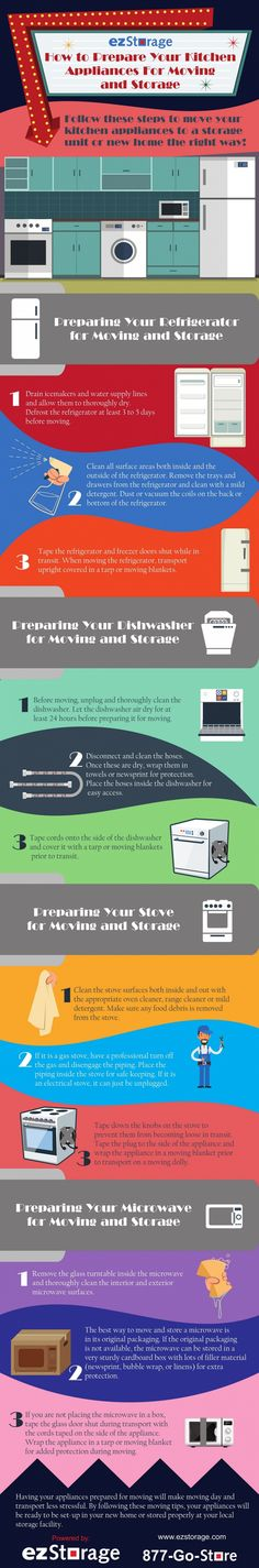 How to Prepare Your Kitchen Appliances for Moving and Storage Primary   --shared by Linkmedia360 on Mar 21, 2016 - See more at: http://visual.ly/how-prepare-your-kitchen-appliances-moving-and-storage-primary#sthash.6plNsT3V.dpuf