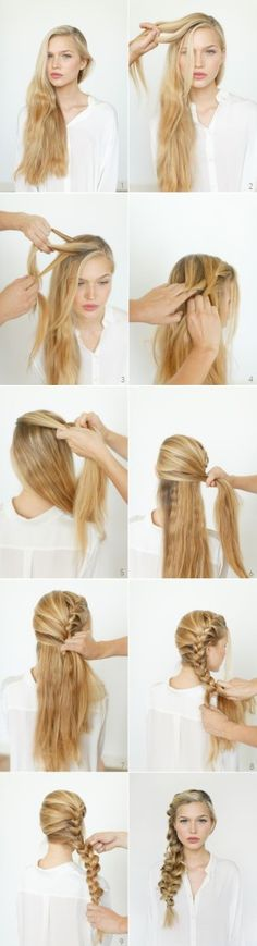 Hairstyles Tutorial | http://onetrend.net/hairstyles-tutorial-2/ - popular hair tutorials photo