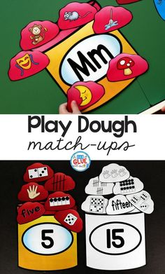 Make learning fun with these themed Initial Sound and Number Match-Ups. Your elementary age students will love this fun play dough themed literacy center and math center! Perfect for literacy stations, math stations, or small Creative Activities For Kids, Kids Learning Activities, Fun Learning, Creative Kids, Playdough Activities, Counting Activities, Alphabet Activities, Teaching Ideas, Learning Numbers