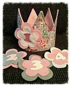 Verjaardagskroon Facebook 》 homemade by tanja
