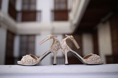 Laced Bridal Shoes