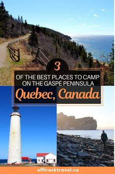 With so little light pollution on the Gaspe Peninsula in Quebec, the view of the stars is out of this world (pun intended). Camping is a fantastic way to see the beauty of this region. Click here to read about three of the best places to camp on the Gaspe Peninsula, Quebec, Canada. - offtracktravel.ca