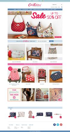 Top retailing websites - cath kidson