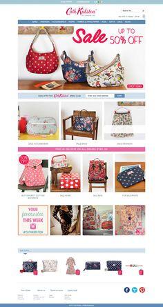 Top retailing websites - cath kidson