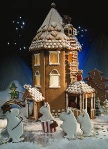 Moomin Gingerbread house! Mumintrollet