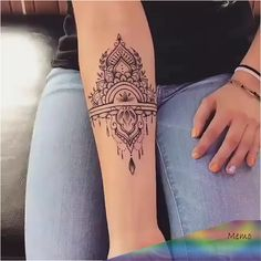 Tattoo Modern, Unique Tattoos, Cute Tattoos, Beautiful Tattoos, Girl Tattoos, Small Tattoos, Girl Forearm Tattoos, Thigh Band Tattoo, Upper Thigh Tattoos