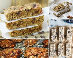 Granola Bar Recipes | 13 Energy Bar Recipes For A Healthy Afternoon Pick Me Up