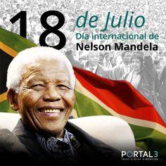Natalicio de Nelson #Mandela  #anniversary  #Efemerides #Puebla http://portal3.mx/