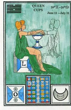 Tarot queen cups - Google Search