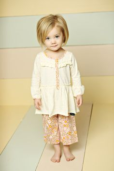 Good Hart, Spring 2013: Crescendo Poet top, Aster Straightees - Matilda Jane Girls Clothing