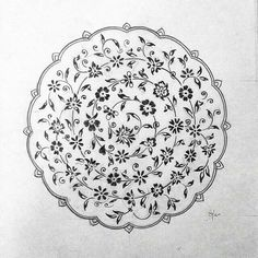 Persian Pattern, Persian Motifs, Islamic Art Pattern, Arabic Pattern, Pattern Drawing, Pattern Art, Pattern Design, Hand Embroidery Designs, Embroidery Patterns