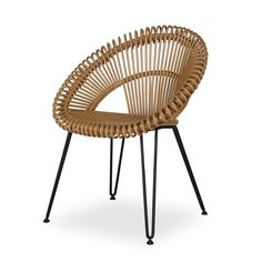 Chaise CURLY naturel - VINCENT SHEPPARD
