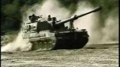 Korean K9 Thunder SPG & K10 Ammunition Re-supply Vehicle - YouTube