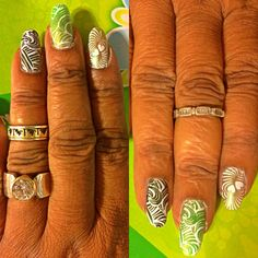 New mani. I call it poison ivy-lol. What do you think?