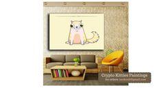 Crypto Kitties Art: Crypto Kitties Art Gallery - Cat Paintings