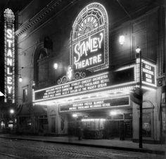 Pittsburgh City, Pittsburgh Neighborhoods, Pennsylvania History, Movie Theater, Ballet Theater, Henri Matisse, Vintage Movies, Vintage Photography, Historical Photos